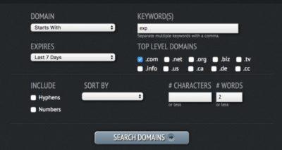 domainhole search